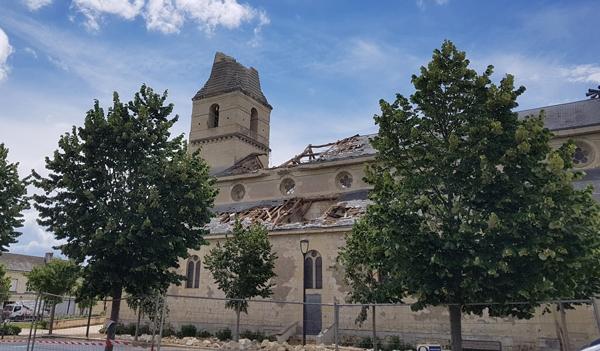 Tornade à Saint Nicolas de Bourgueil